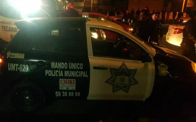 Matan en Edomex a dos policías mientras cenaban tamales