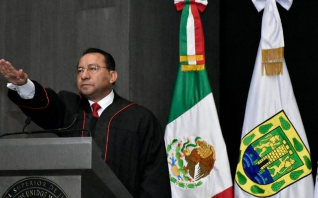 Rafael Guerra asume como presidente del TSJ de la Ciudad de México - Foto de Notimex