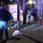 Arrojan de microbús a asaltante y muere atropellado