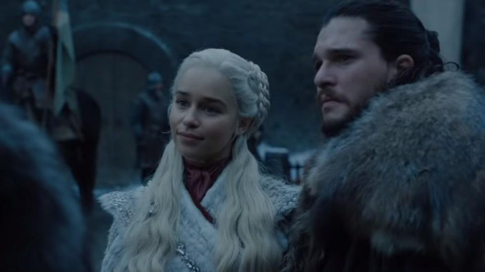 Final de Game of Thrones sería como ver seis películas - Primera escena del final de Game of Thrones. Captura de pantalla