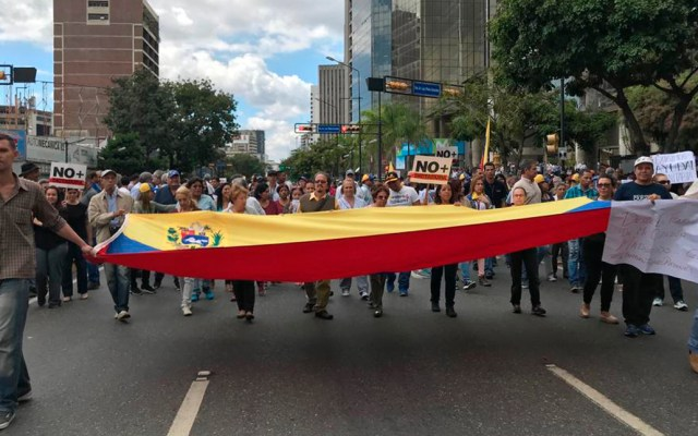Suman cerca de mil detenidos por protestas en Venezuela - Foto de AP