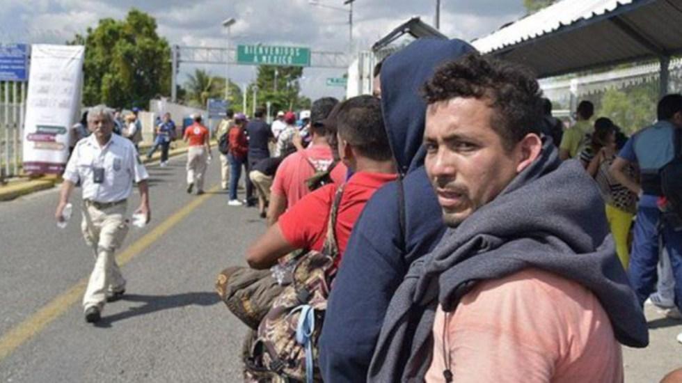 México ayuda a cumplir las metas fronterizas de Trump: NYT - regresan a sus hogares más de 300 miembros de caravana migrante