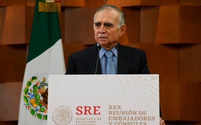 Romo llama a embajadores y cónsules a promover a México en el mundo - Foto de @SRE_mx