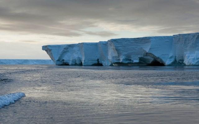 Plataforma de hielo en la Antártida en riesgo de derretirse - Foto de Internet