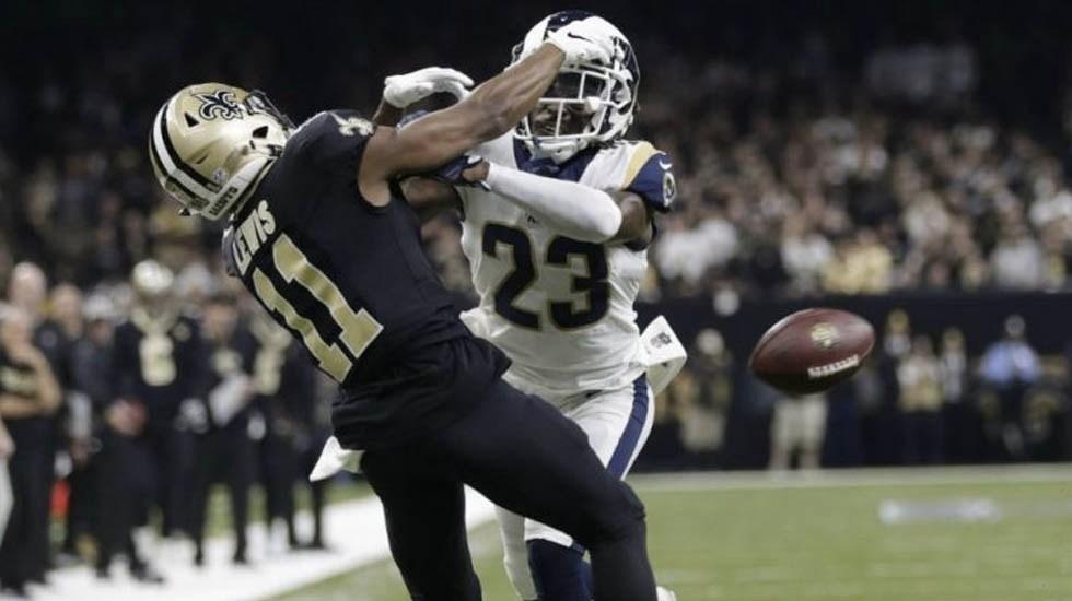 Casa de apuestas devolverá dinero por error arbitral en derrota de los Saints - Foto de AP