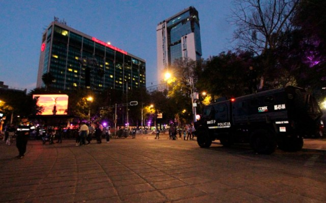 Saldo blanco tras festejos de año nuevo en Reforma - Foto de @SSP_CDMX