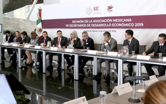 Autoridades fortalecen colaboración para impulsar economía del país - Foto de @SE_mx
