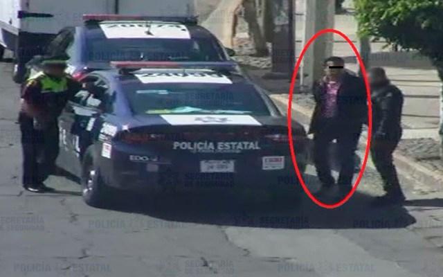 Detienen a cuatro secuestradores en Cuautitlán Izcalli - Foto de @SS_Edomex