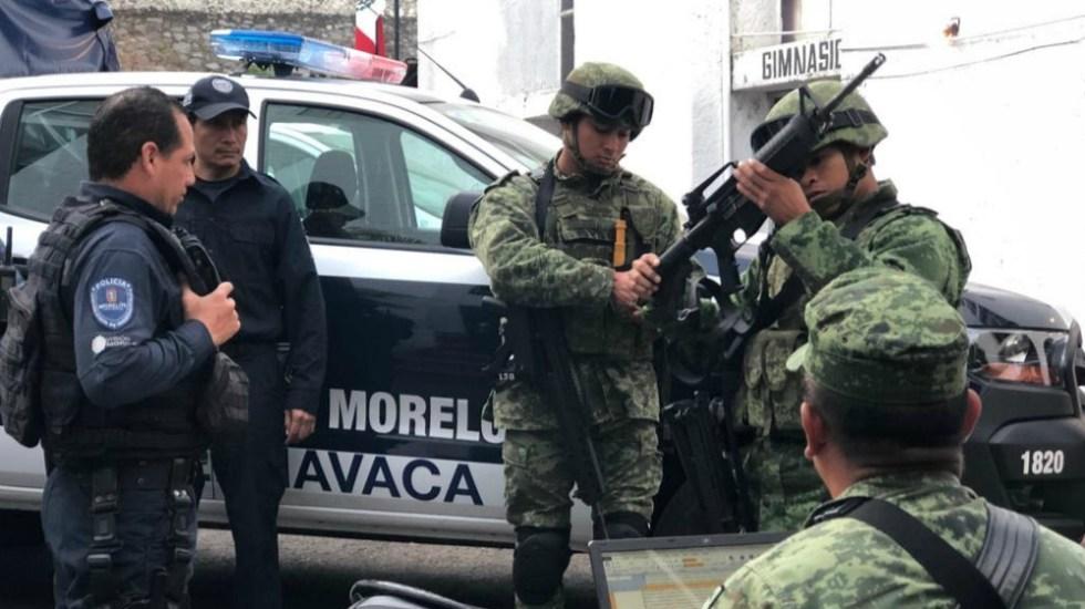 Seguridad en tres municipios de Morelos a cargo del Ejército: Gobierno de México - Foto de Notimex