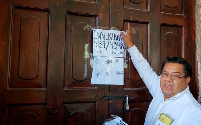 Muere síndico herido durante asesinato de alcalde de Tlaxiaco - Síndico Perfecto Hernández. Foto de Internet