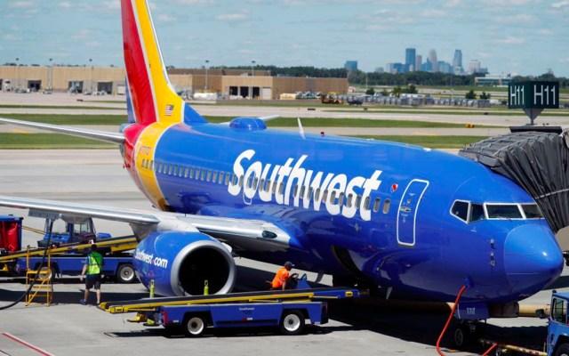 Colisiona avión de Southwest en el Aeropuerto Internacional de Denver - Foto de Twitter