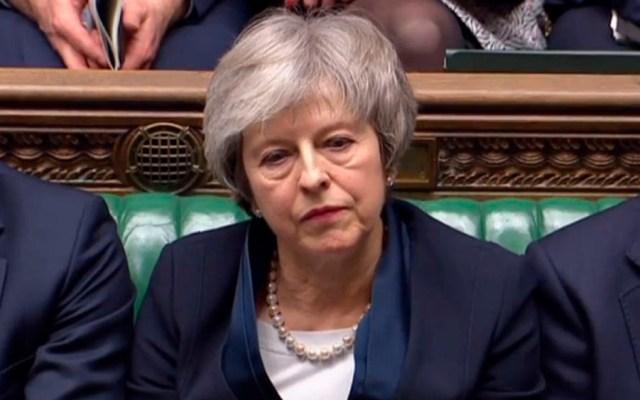 May busca sacar Brexit de bloqueo - Foto de AFP