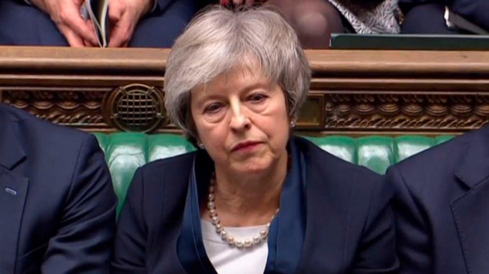 May determinada a aplicar el Brexit - Foto de AFP