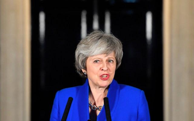 """Theresa May no irá a Davos para centrase en el """"brexit"""" - Foto de AFP"""
