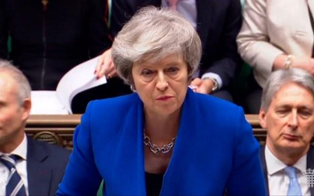 Brexit se agrava tras moción de censura a Theresa May - Foto de AFP
