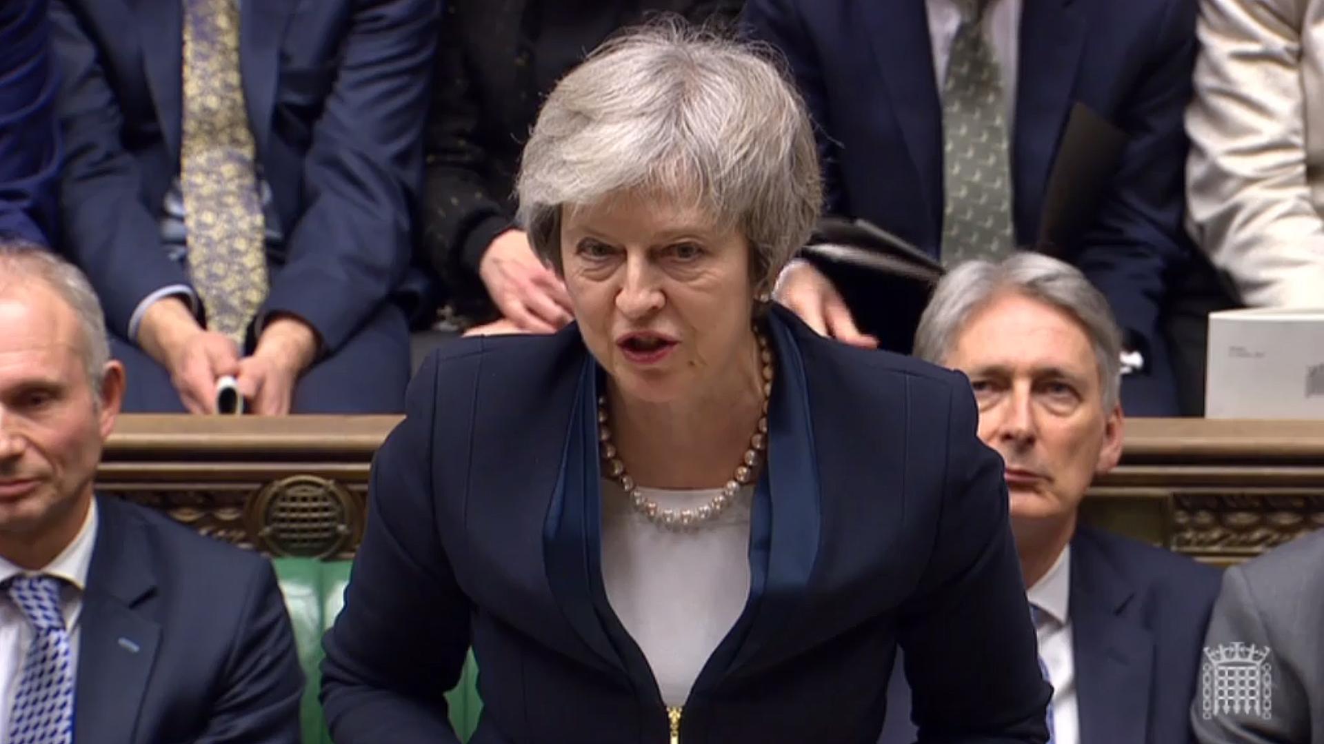 Theresa May tendrá que presentar un plan B sobre el Brexit