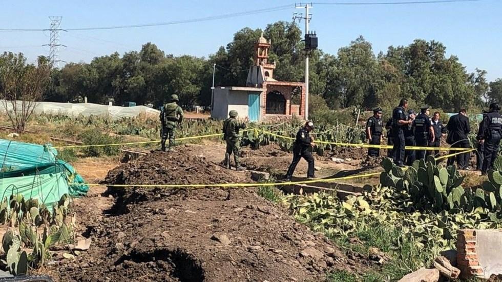 Localizan toma clandestina en Otumba, Estado de México - Policías Federales y soldados sostuvieron un confrontamiento verbal con pobladores de Otumba al acordonar una toma clandestina de combustible. Foto de Milenio