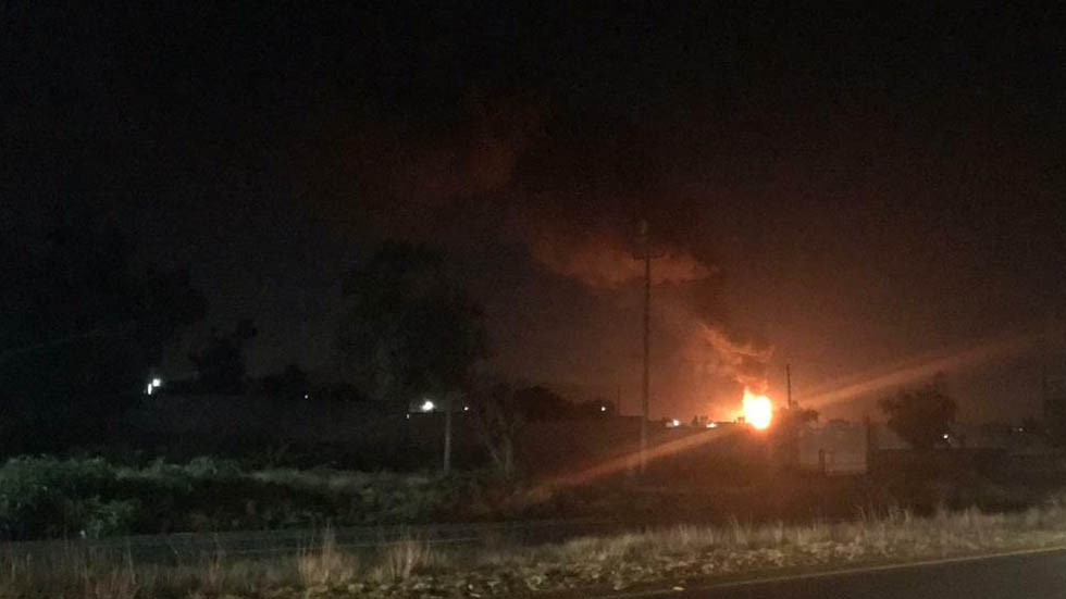 Se reporta explosión de otra toma clandestina de combustible en Hidalgo