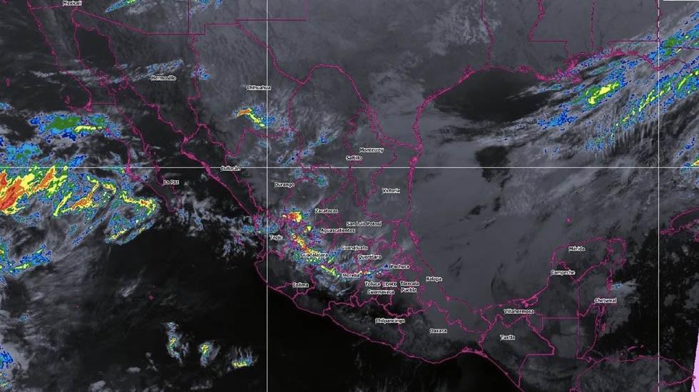 Preven tormentas y chubascos en el sureste de México - Foto de Conagua