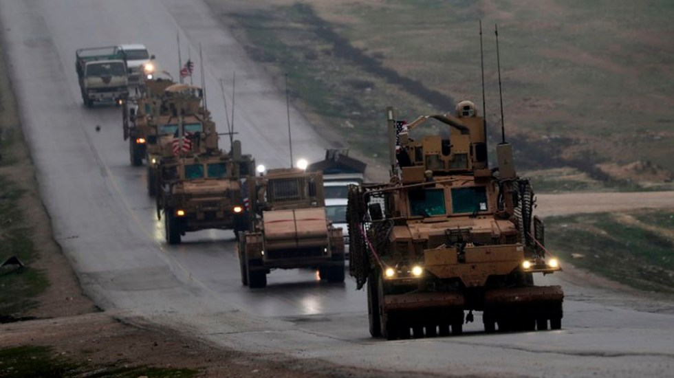 EE.UU. inicia retiro de tropas en Siria - Foto de Delil SOULEIMAN / AFP