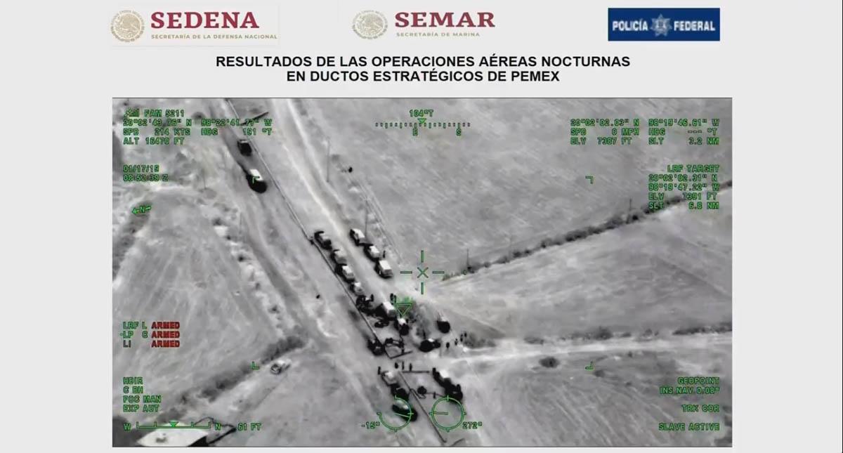 Vigilancia aérea de ductos de Pemex. Captura de pantalla