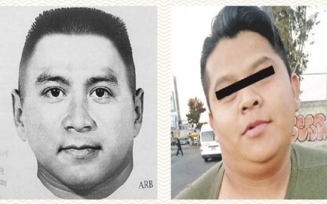 Detienen a violador serial en la Ciudad de México - Retrato hablado y día de la captura del presunto violador serial. Foto de ContraRéplica