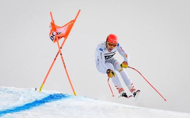 Copa Mundial de Esquí 2019. - El italiano Christof Innerhofer en la Copa Mundial de Esquí en Suiza. Foto de AFP.