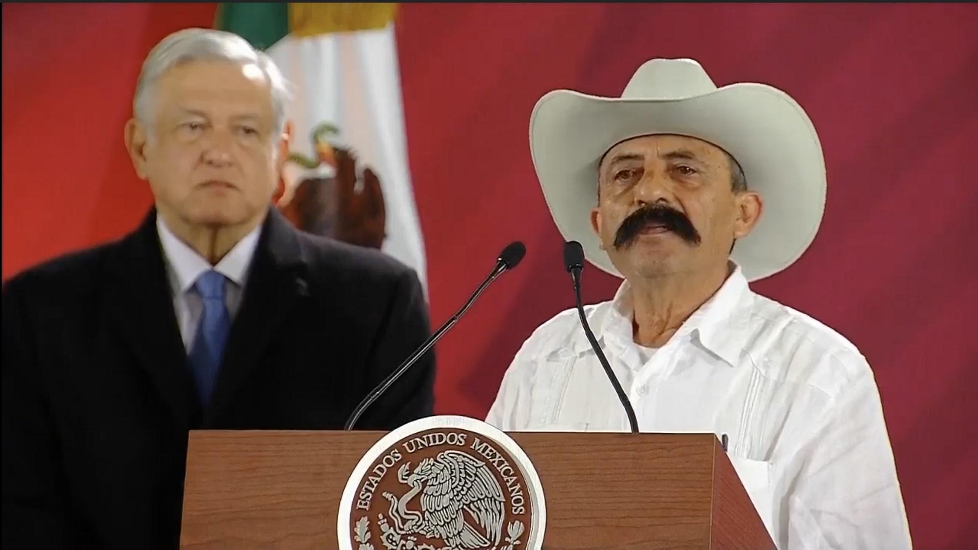 Nieto de Emiliano Zapata, Jorge Zapata. Captura de pantalla