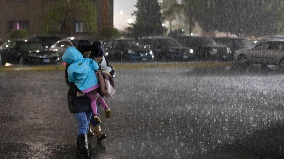 Inicia el primer temporal de lluvias en México - frente frío 40 provocará lluvias