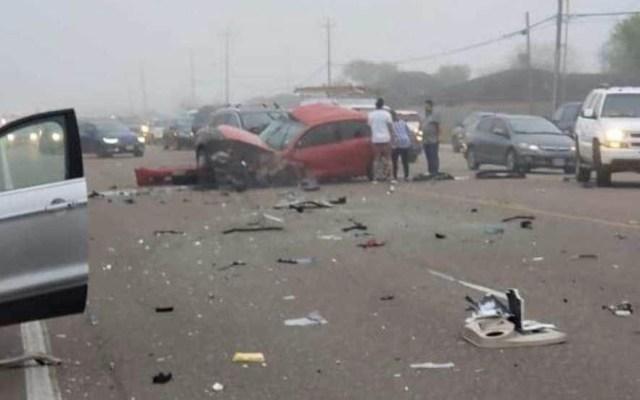 Carambola en Texas deja al menos un muerto - Foto de Erasmo Castro/Facebook
