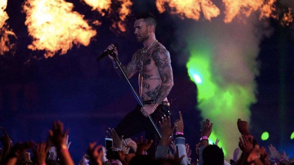 Adam Levine responde a críticas tras actuación en el Super Bowl - Foto de CNN