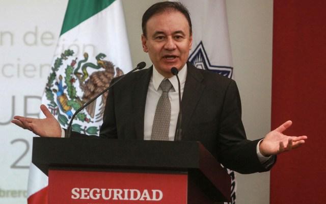 Durazo celebra apoyo del Congreso a la Guardia Nacional - Alfonso Durazo. Foto de Notimex