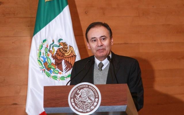 Sin daños por el sismo magnitud 6.5: Alfonso Durazo - Alfonso Durazo