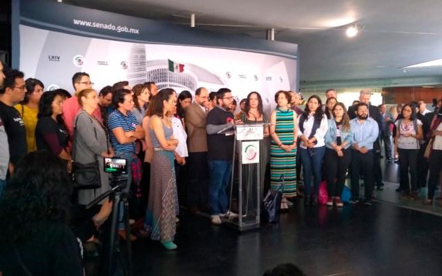 Organizaciones respaldan pacto de Guardia Nacional con mando civil - Foto de @SerapazMexico