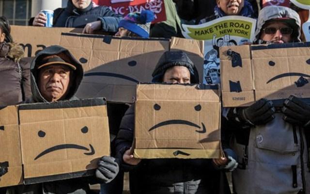Amazon cancela construcción de nueva sede en Nueva York - Foto de The New York Times