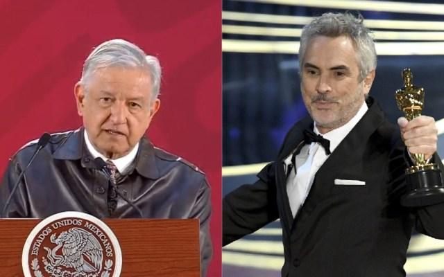 López Obrador aplaude a Alfonso Cuarón por Óscares - AMLO - Alfonso Cuarón. Foto de AFP / Valerie Macon