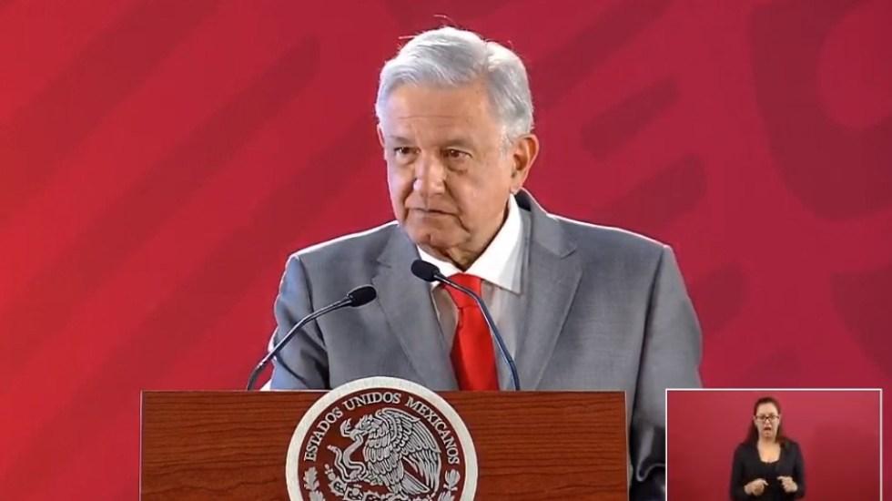 Prohibirán a ex funcionarios trabajar en empresas particulares - AMLO en conferencia de prensa. Captura de pantalla