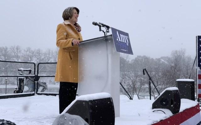 Amy Klobuchar aspirará a la presidencia de EE.UU. en 2020 - Foto de @amyklobuchar