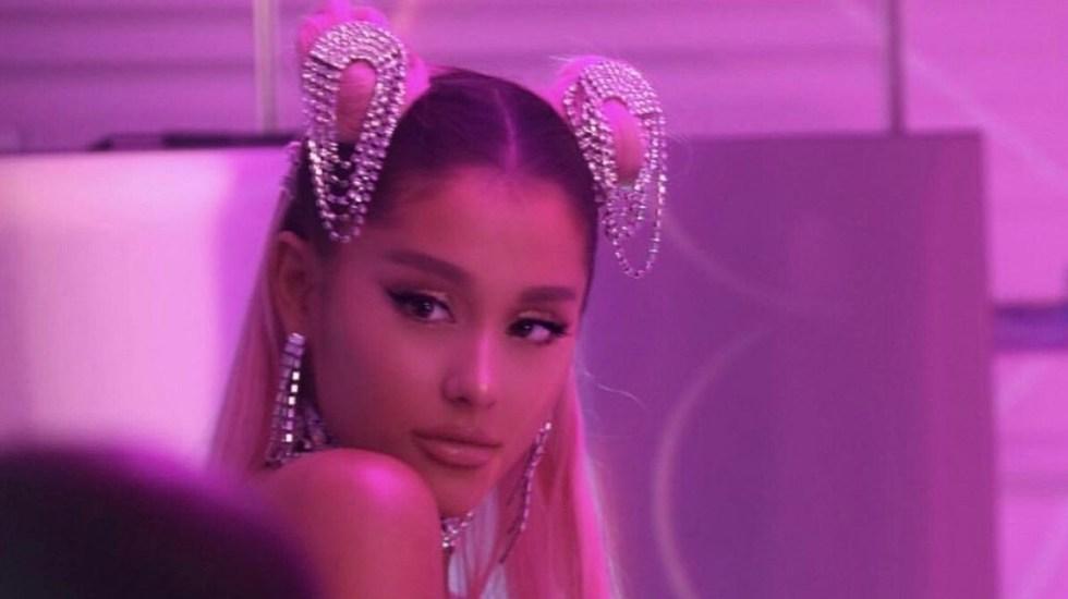 Ariana Grande cancela su asistencia a los Grammy 2019 - Ariana Grande en su video musical