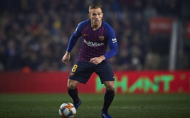 Arthur causa baja con el Barcelona por lesión muscular - Arthur Melo, en el partido ante el Real Madrid. Foto de Bagu Blanco (GTRES)