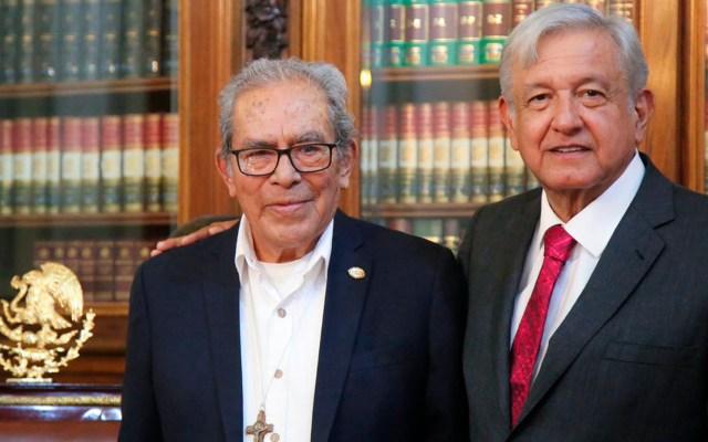 López Obrador se reúne con obispo del Istmo de Tehuantepec - López Obrador se reúne con obispo de Tehuantepec