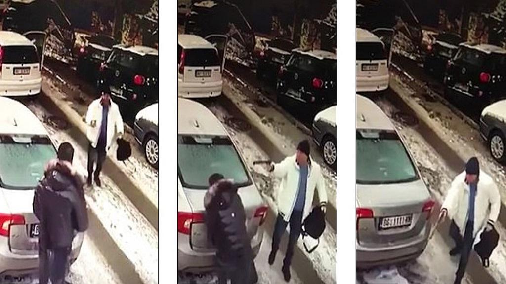 #Video Asesino a sueldo mata a inocente por error - Asesino a sueldo disparando a hombre inocente. Captura de pantalla