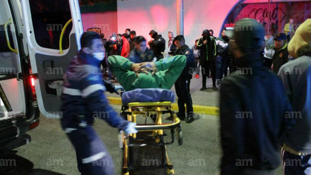 Porra de León es atacada a balazos previo a su viaje