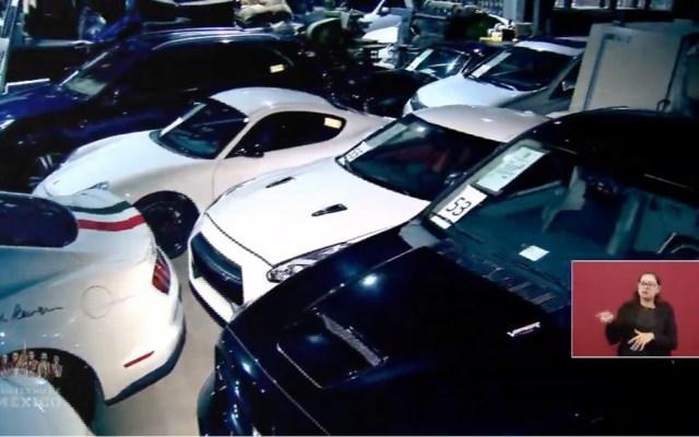 Habrá segunda subasta de vehículos de lujo - Autos de lujo para subasta. Captura de pantalla