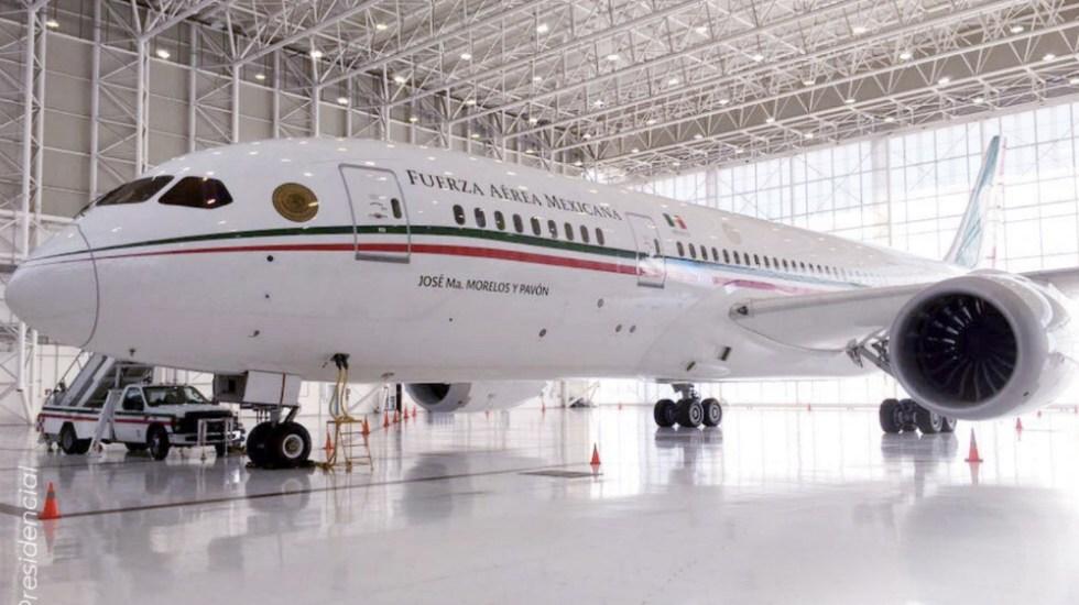 AMLO afirma que se subirá al avión presidencial para una 'mañanera' - Avion Presidencial Jose Maria Morelos