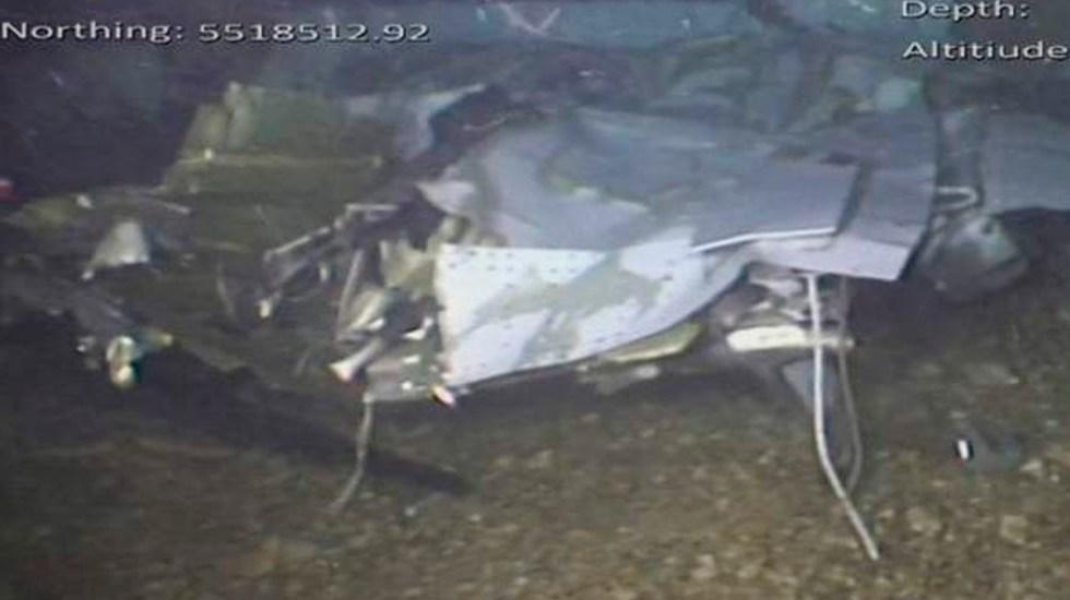 Publican informe y fotos sobre accidente de Emiliano Sala