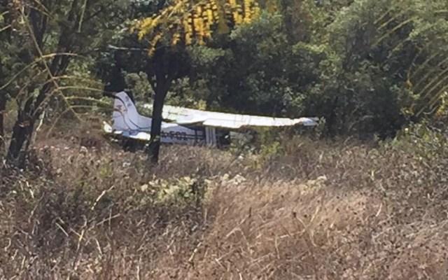 Avión pequeño se desploma en Comitán, Chiapas - Foto de Alerta Chiapas
