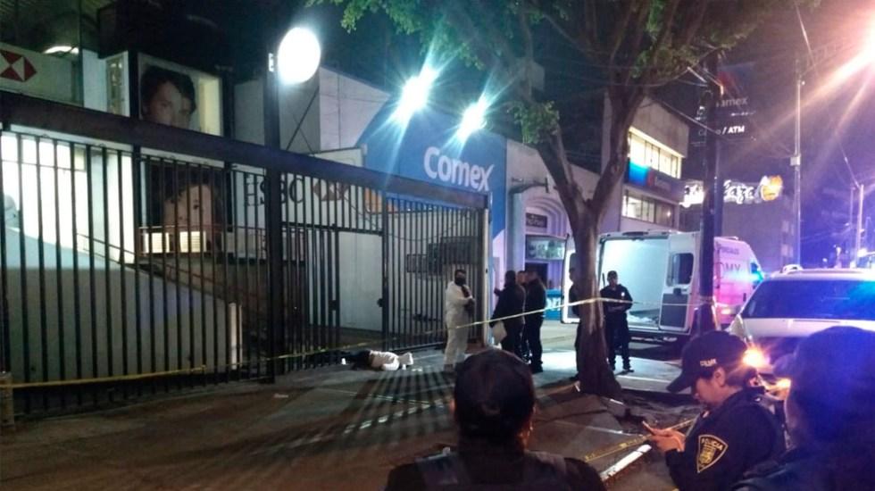 Asalto deja dos muertos en Coyoacán - Foto de Quadratín