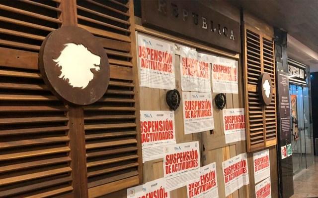 Suspenden cuatro bares en Polanco - Foto de @AMHDEJ