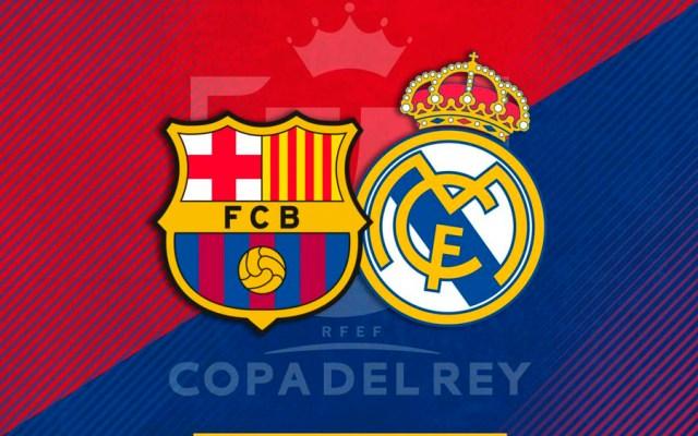 Barcelona vs Real Madrid en semifinales de la Copa del Rey - Foto de @FCBarcelona_es
